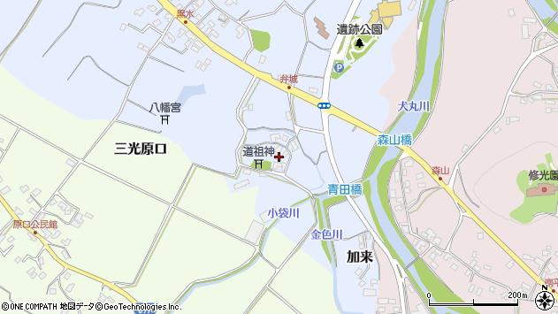 大分県中津市加来1690周辺の地図