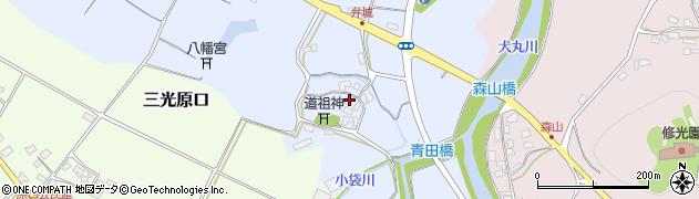 大分県中津市加来1696周辺の地図