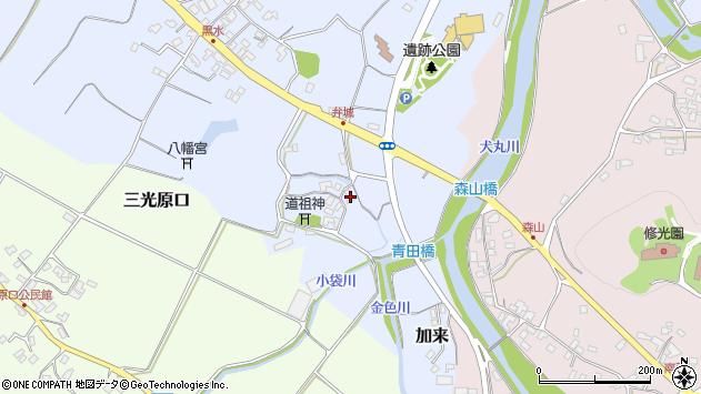 大分県中津市加来1697周辺の地図