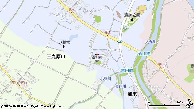 大分県中津市加来1705周辺の地図