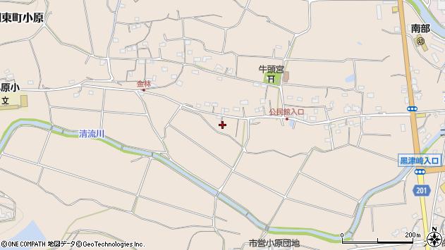 大分県国東市国東町小原1108周辺の地図