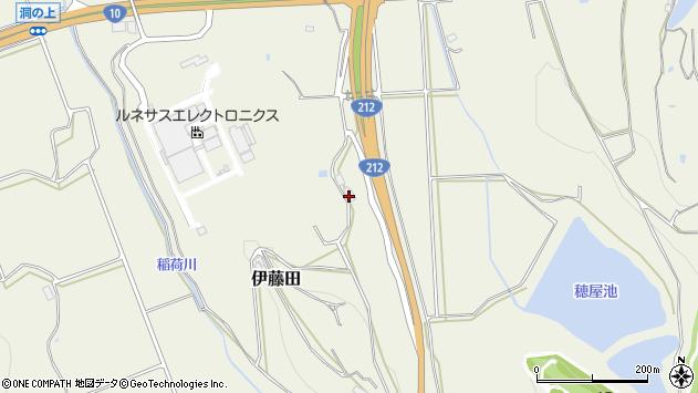 大分県中津市伊藤田4259周辺の地図