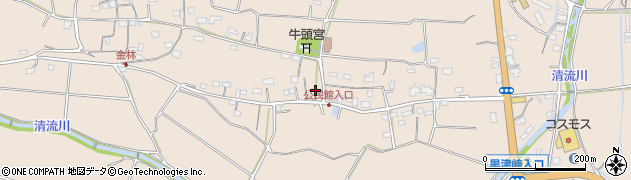 大分県国東市国東町小原1126周辺の地図