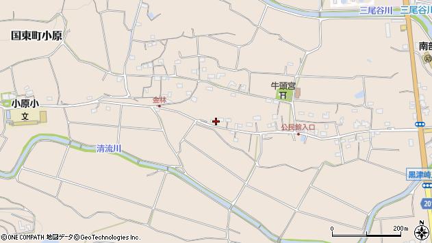 大分県国東市国東町小原1179周辺の地図