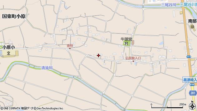 大分県国東市国東町小原1168周辺の地図