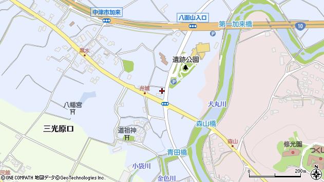 大分県中津市加来1615周辺の地図