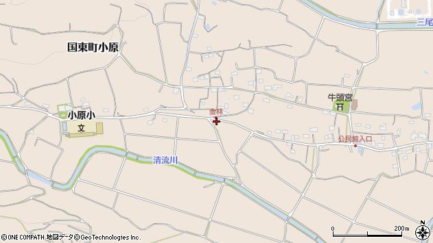 大分県国東市国東町小原1575周辺の地図