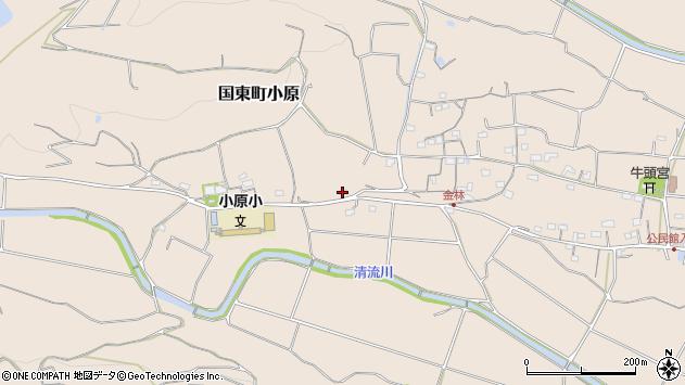 大分県国東市国東町小原1329周辺の地図