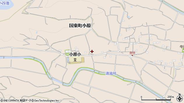 大分県国東市国東町小原1354周辺の地図