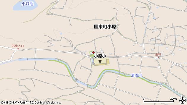 大分県国東市国東町小原1400周辺の地図