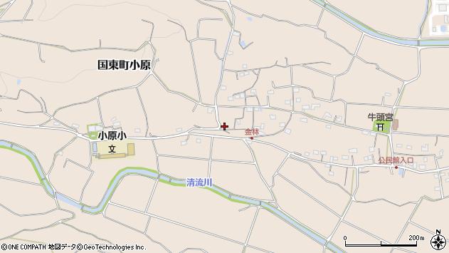 大分県国東市国東町小原1308周辺の地図