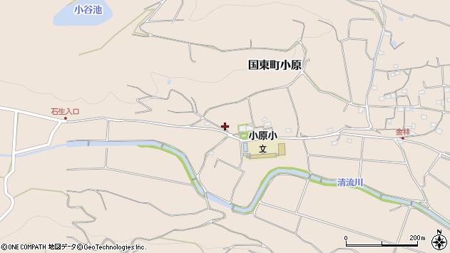 大分県国東市国東町小原1418周辺の地図