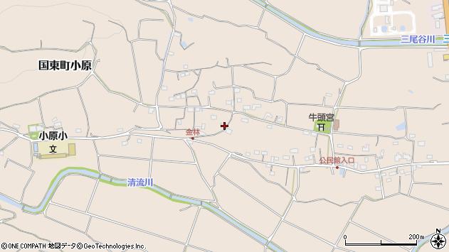 大分県国東市国東町小原1247周辺の地図