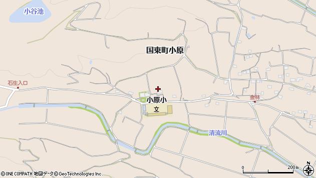 大分県国東市国東町小原1391周辺の地図