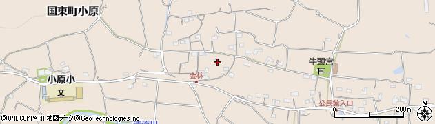 大分県国東市国東町小原1246周辺の地図