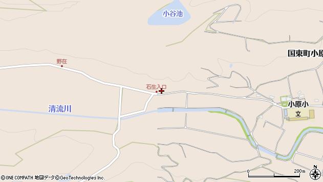 大分県国東市国東町小原7118周辺の地図