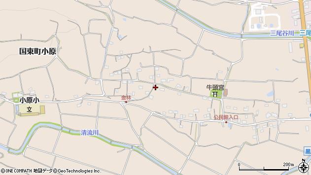 大分県国東市国東町小原1252周辺の地図