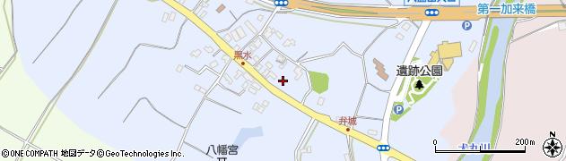 大分県中津市加来1498周辺の地図