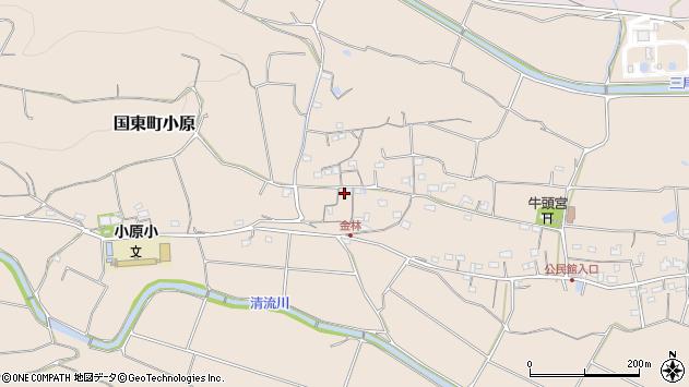 大分県国東市国東町小原1237周辺の地図