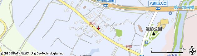 大分県中津市加来1504周辺の地図