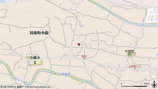 大分県国東市国東町小原1231周辺の地図