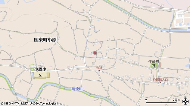 大分県国東市国東町小原1229周辺の地図