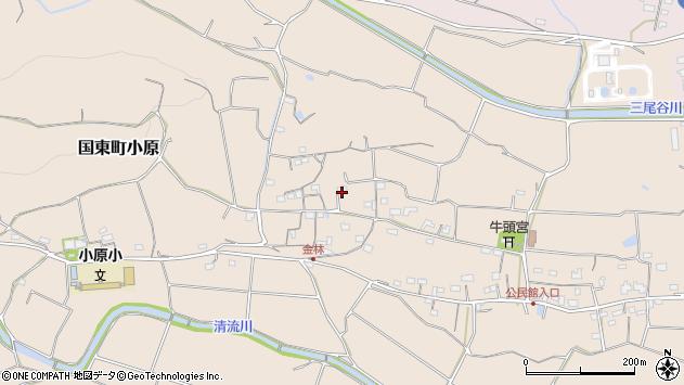 大分県国東市国東町小原1216周辺の地図