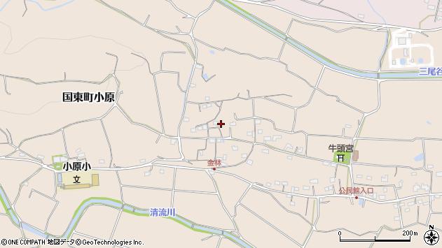 大分県国東市国東町小原1222周辺の地図