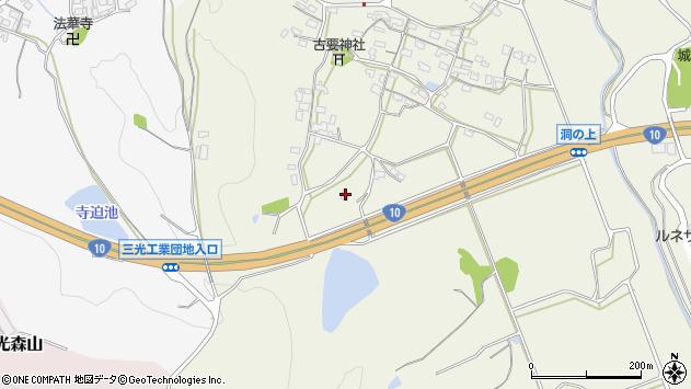 大分県中津市伊藤田290周辺の地図