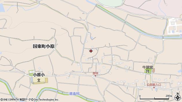 大分県国東市国東町小原768周辺の地図