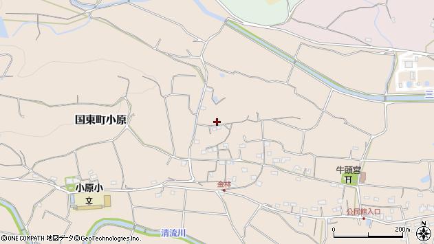 大分県国東市国東町小原364周辺の地図
