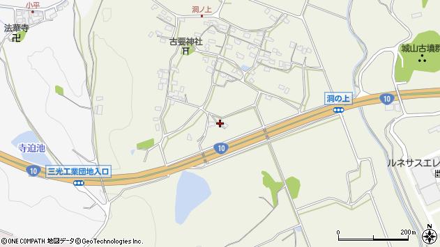 大分県中津市伊藤田431周辺の地図