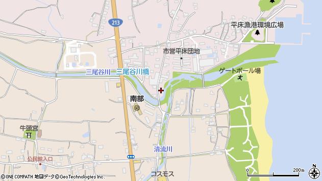 大分県国東市国東町鶴川1020周辺の地図
