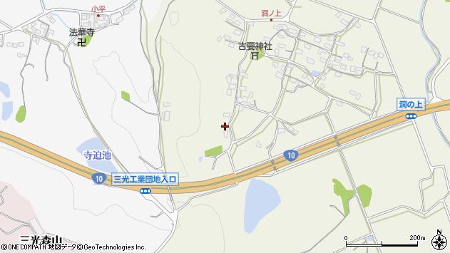 大分県中津市伊藤田29周辺の地図