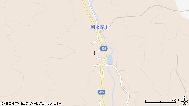 大分県国東市安岐町明治1036周辺の地図