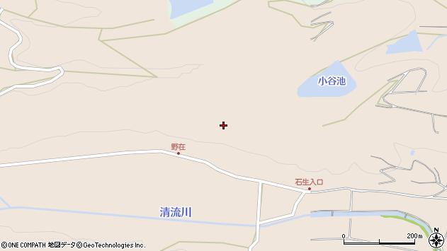 大分県国東市国東町小原野在周辺の地図