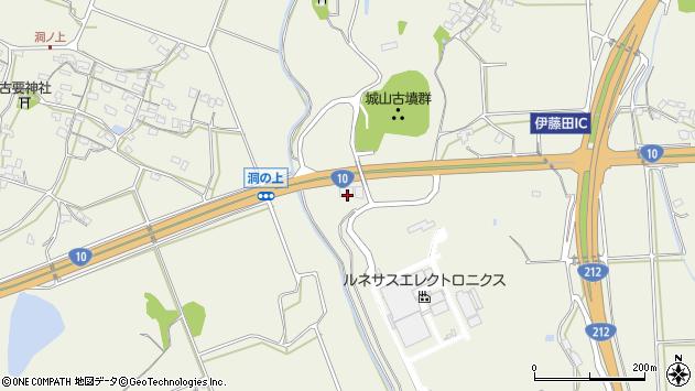 大分県中津市伊藤田4127周辺の地図