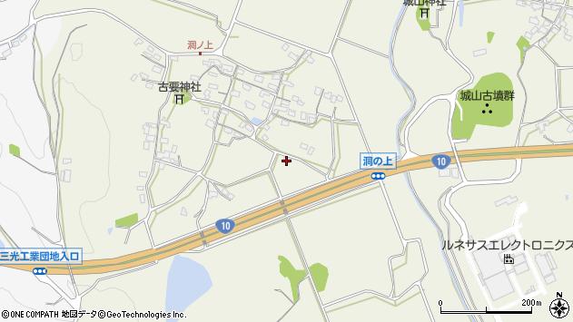 大分県中津市伊藤田379周辺の地図