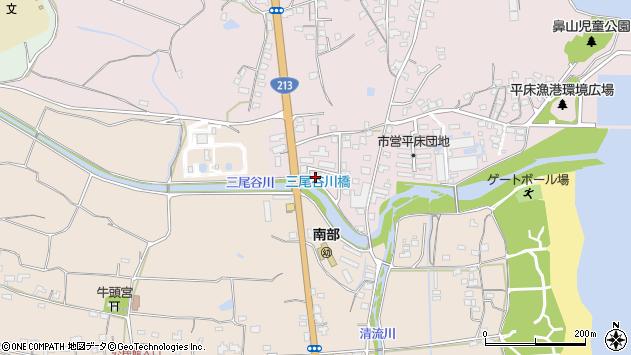 大分県国東市国東町鶴川1611周辺の地図