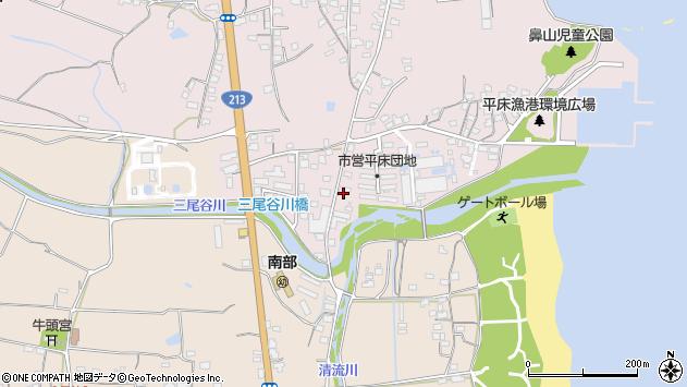 大分県国東市国東町鶴川1023周辺の地図
