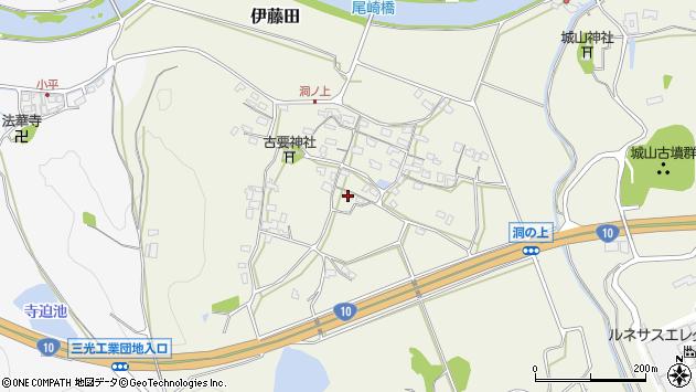 大分県中津市伊藤田202周辺の地図
