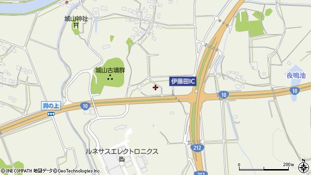 大分県中津市伊藤田1182周辺の地図
