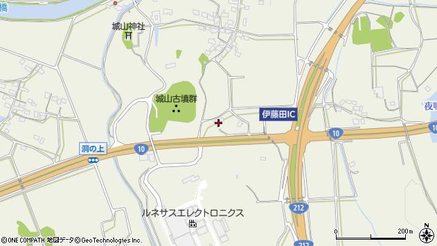 大分県中津市伊藤田1177周辺の地図