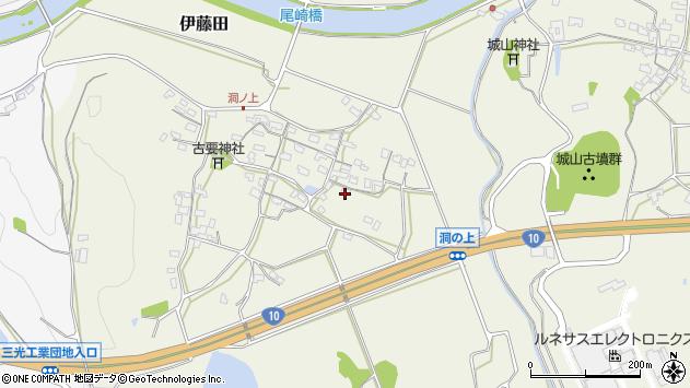 大分県中津市伊藤田193周辺の地図
