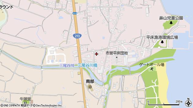大分県国東市国東町鶴川1614周辺の地図