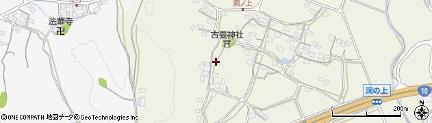 大分県中津市伊藤田266周辺の地図