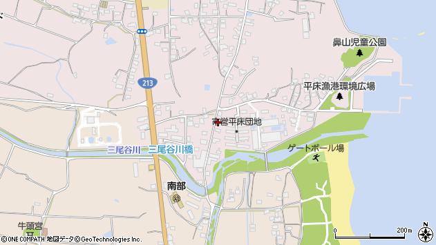 大分県国東市国東町鶴川1603周辺の地図