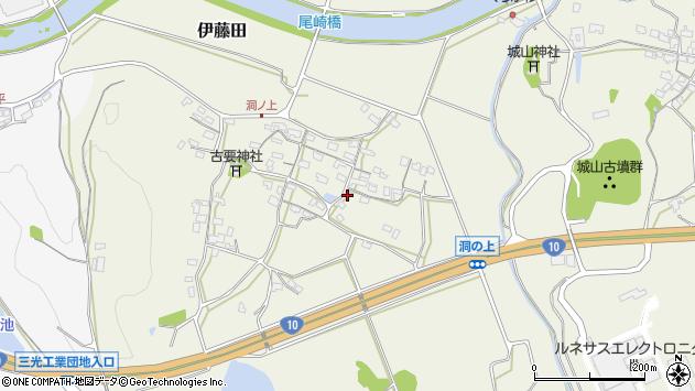 大分県中津市伊藤田194周辺の地図