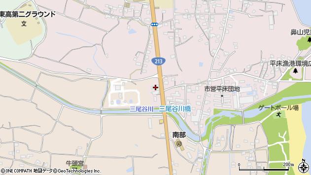 大分県国東市国東町鶴川1656周辺の地図