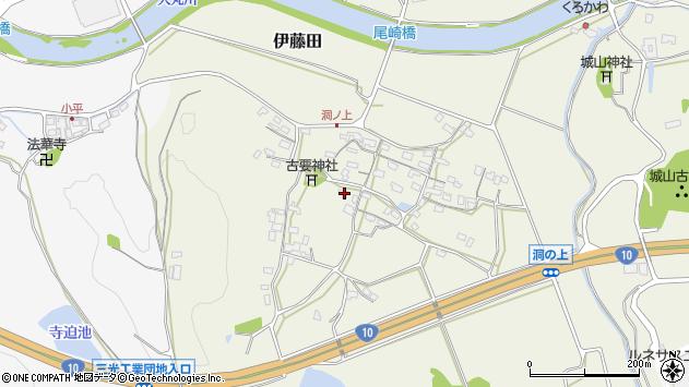 大分県中津市伊藤田209周辺の地図